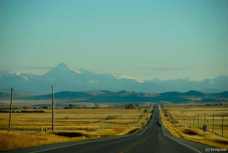 Straße nach Westen