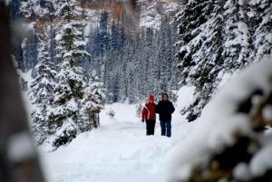 Spaziergang am Lake Louise