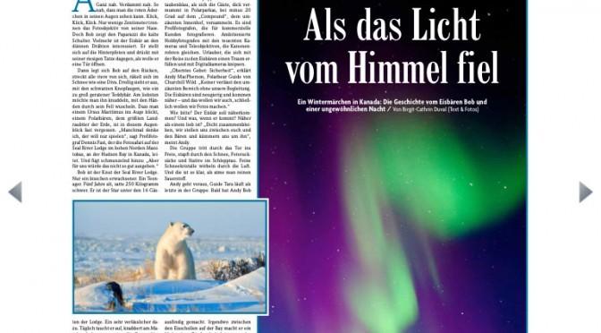 Interview und Reisebericht heute in der Badischen Zeitung