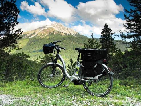 Fernpass mit E-Bike