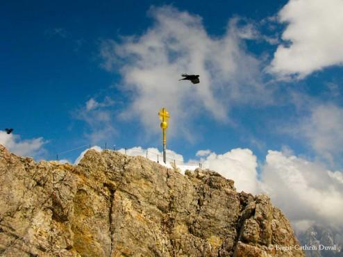 Zugspitze-Gipfelkreuz