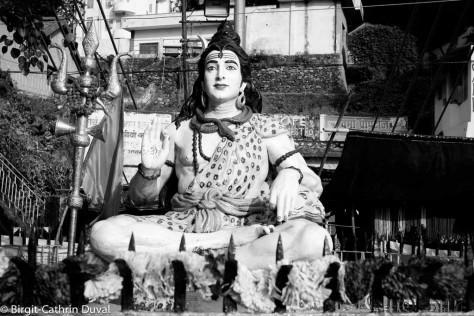 Rishikesh-Statue