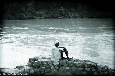 Sadhu-Ganges