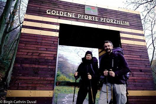 Start an der Goldenen Pforte in Pforzheim