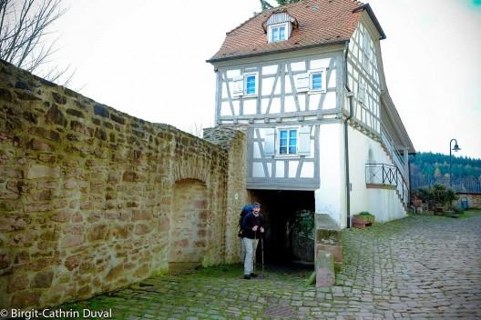 Auf dem Schloss Neuenbürg