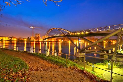 Dreiländerbrücke – Passerelle des Trois Pays