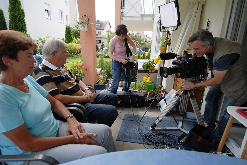 Herr L. und Frau F. beim Interview ©bcmpress
