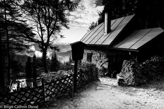 Tolle Hütte, fantastischer Ausblick: Die Hohenlochenhütte