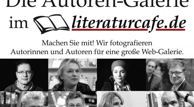 Autoren-Portrait Fotografie auf der Leipziger Buchmesse
