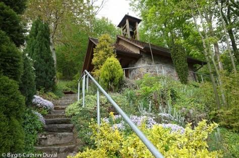 Die wundersame Portiunkula-Kapelle auf dem Abtsberg