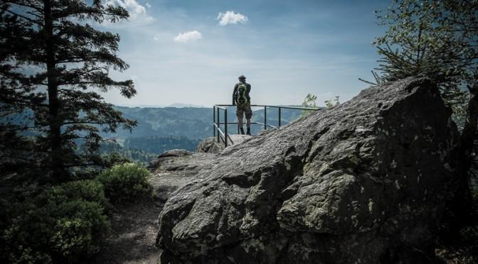 Gratwanderung im Schwarzwald