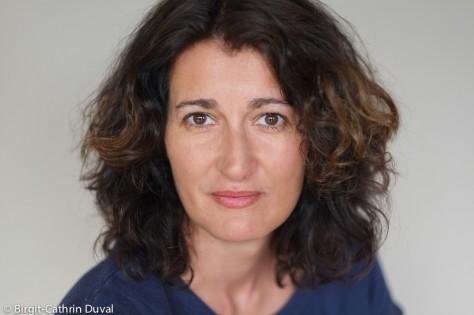 Die Journalistin Geraldine Friedrich