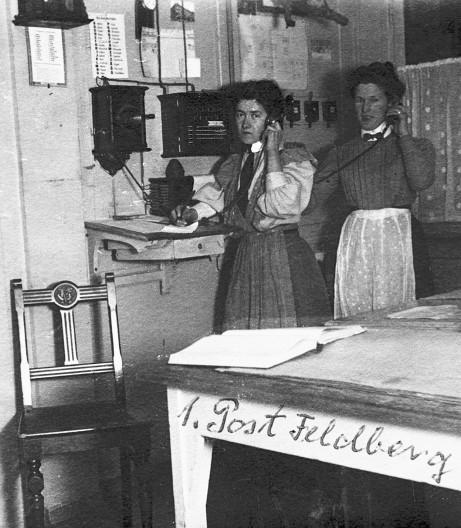 Poststelle auf dem Feldberg