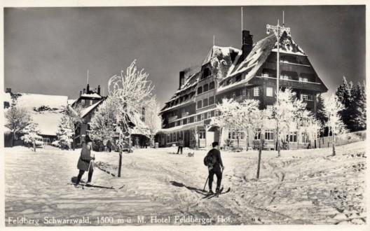 Der Feldberger Hof im Jahr 1911