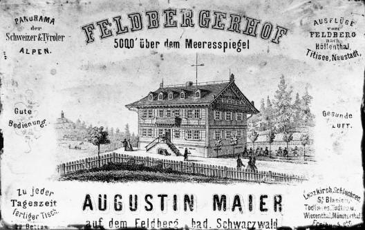 Werbeplakat von 1885