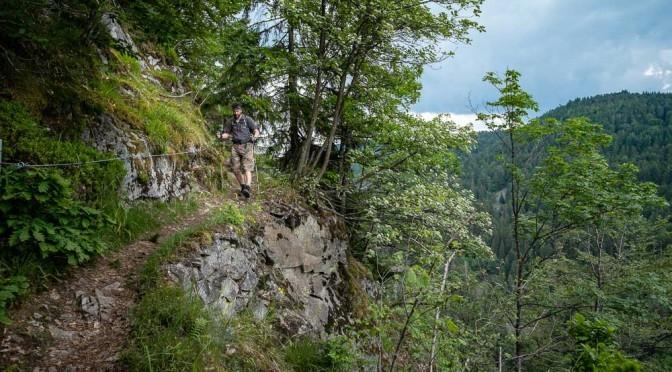 Der wilde Pfad im Hotzenwald