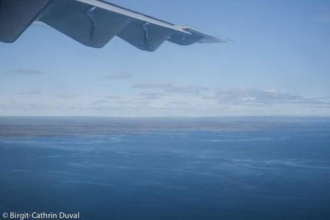 Weiterflug von Rankin Inlet nach Repulse Bay