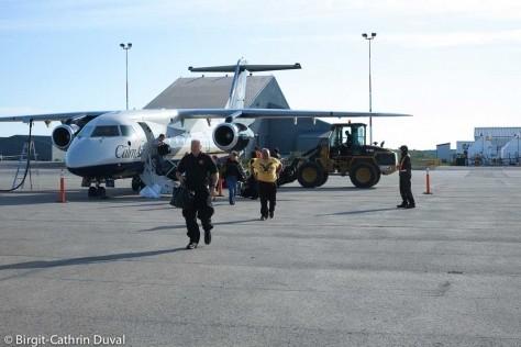 CalmAir Flight Nr. 535 in Churchill