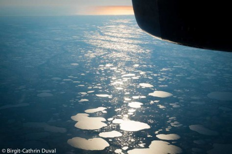 Early morning flight with Calmair from Winnipeg to Churchill