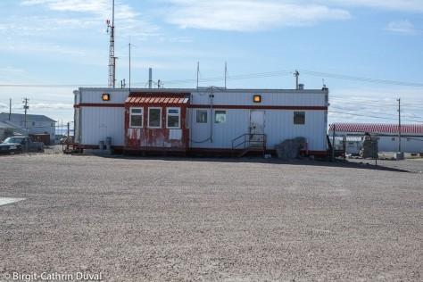Das Flughafengebäude von Repulse Bay