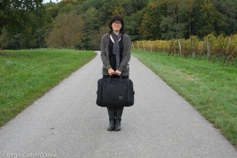 Die Aeronaut ist nicht größer als eine Sporttasche. Damit soll ich reisen?