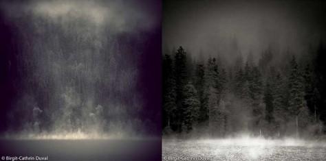 Bowron Lake in British Colombia und Mummelsee im Schwarzwald. Welcher ist wer?