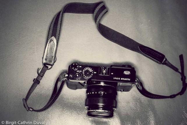 Fuji X-Pro 1 mit Domke Kameragurt