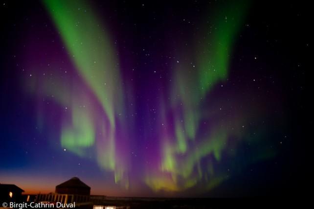 Spektakuläre Nordlichter im Norden Kanadas