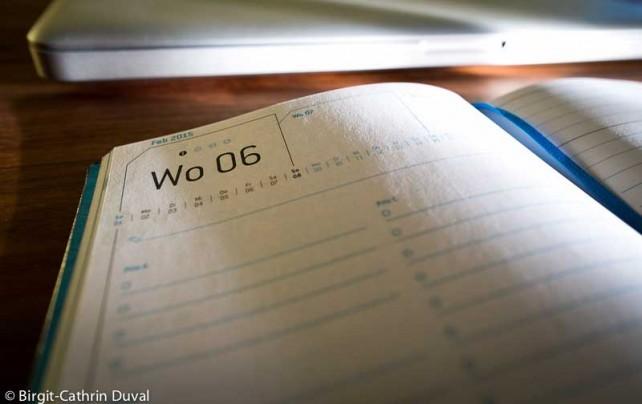 Die Woche immer im Blick - nach Prioritäten geplant
