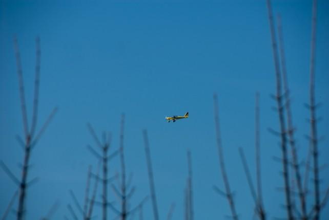 Flug in die Sofi überm Schwarzwald