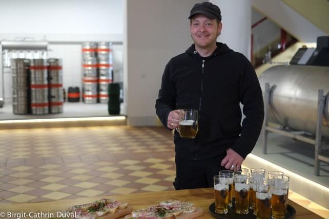 Florian Angele ist Bierbrauer mit Leib und Seele