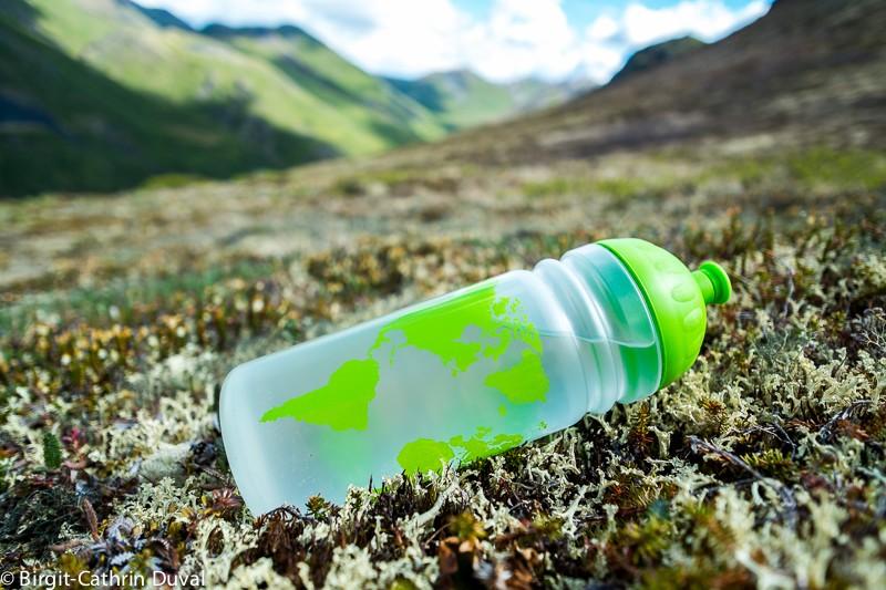 Getestet: Die Isybe-Trinkflasche im Tombstone Territorial Park, Yukon Kanada