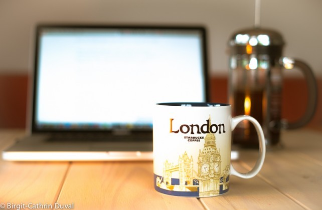 Live im Café mit Coffitivity, den Kaffee muss man selber machen