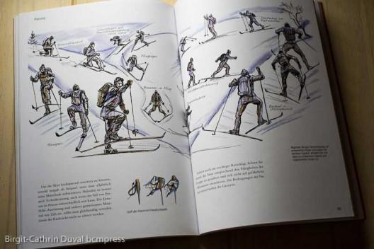 Die richtige Skitechnik will geübt sein