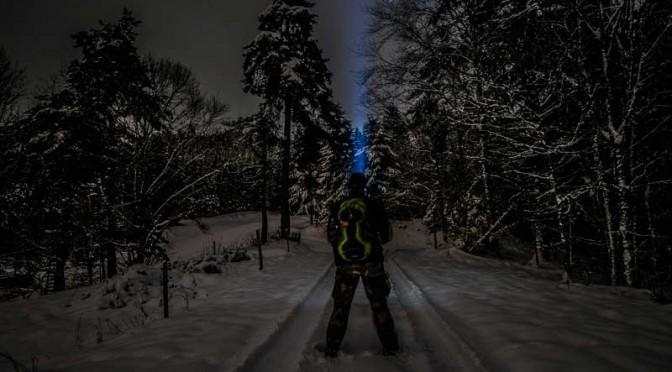 Nachts im Schnee fotografieren mit der Fuji X-Pro 1