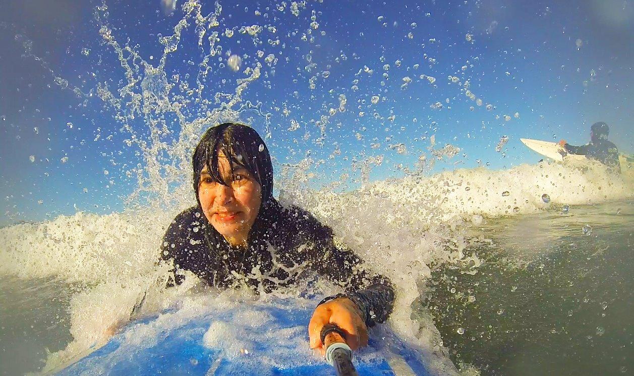 GoPro Surfer-Selfie