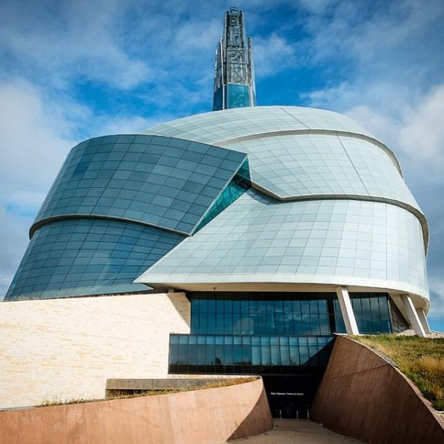 Winnipegs Ikone: Das Canadian Museum of Human Rights