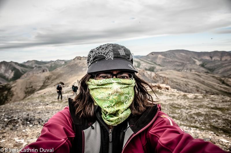 Der Ivvavik NP isst menschenleer und von Millarden Moskitos bevölkert