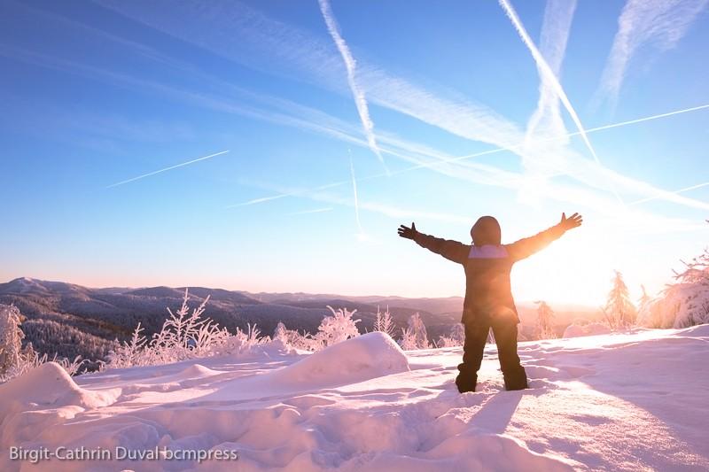 Schnee - juchee! Schneekristalle machen glücklich!