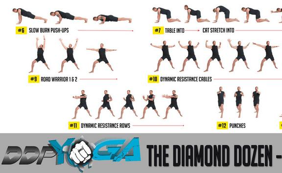 Ausschnitt aus dem Diamond Dozen Poster