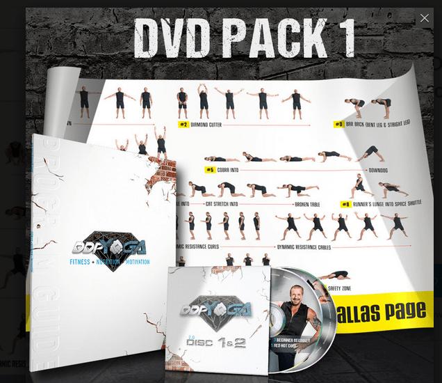 So sehen die neuen DVDs von DDP Yoga aus