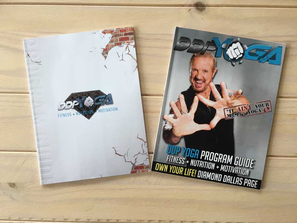 Version 2.0 mit DDP Yoga Logo statt Diamond Dallas Page