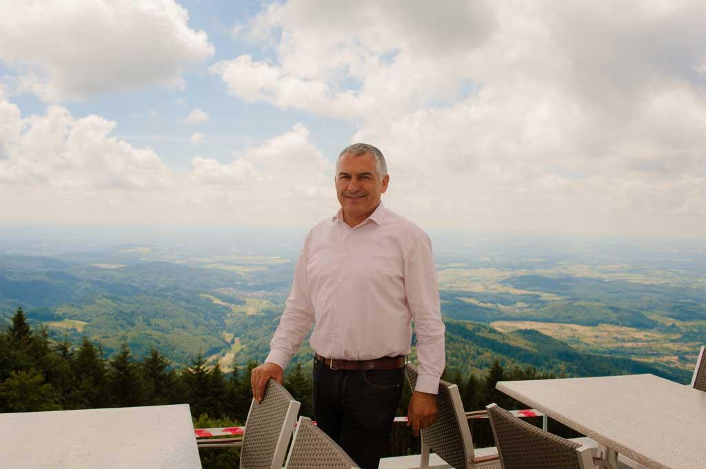 Hasan Alaca freut sich über die vielen Komplimente, die er für den Umbau des Berghotels erhält