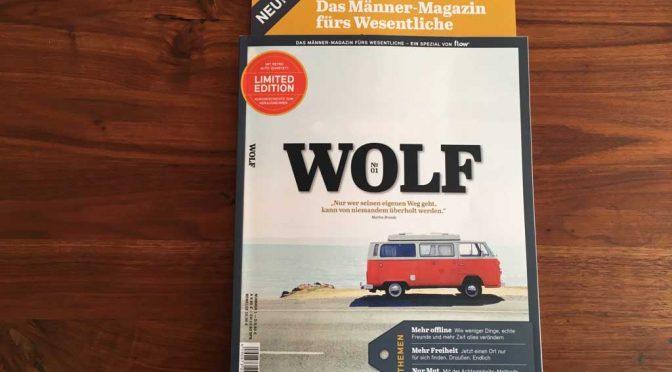 WOLF: Flow-Magazin im Wolfspelz