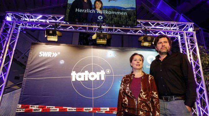 """Der erste Schwarzwald-Tatort: Verschneiter Tannenwald und grüne """"Kunscht"""""""