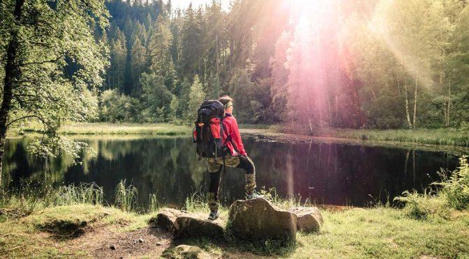 Mikroabenteuer im Trekking-Camp Schwarzwald