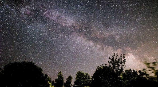 Sternschnuppen und Milchstraße fotografieren im August