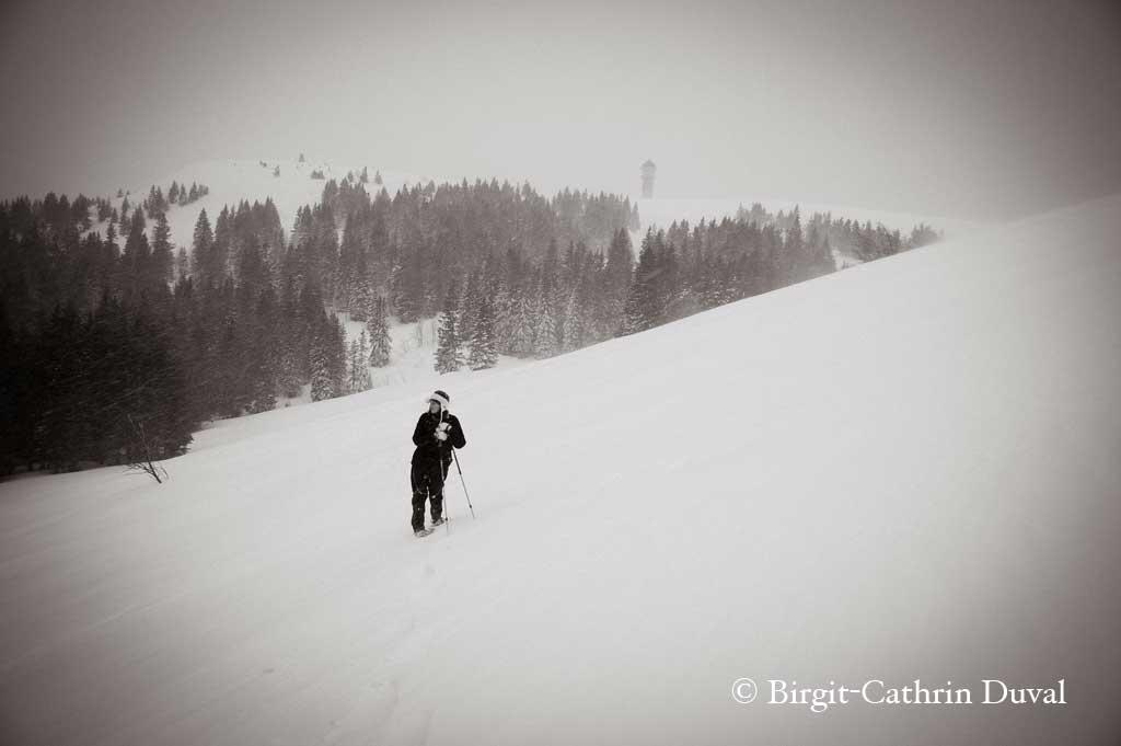 Schneesturm Feldberg